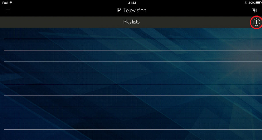 How to setup IPTV on iOS using IP Television App? - Knowledgebase